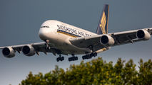 9V-SKH - Singapore Airlines Airbus A380 aircraft