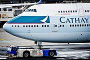 B-HUJ - Cathay Pacific Boeing 747-400 aircraft