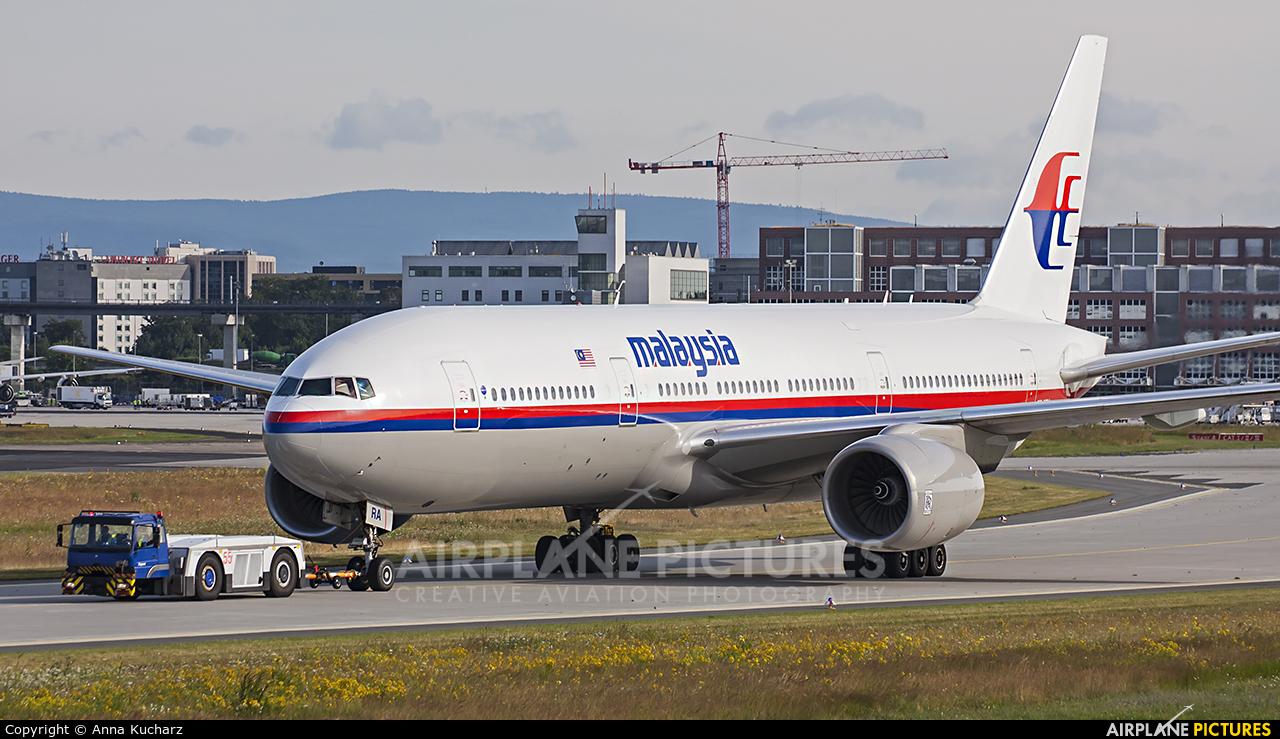 Malaysia Airlines 9M-MRA aircraft at Frankfurt