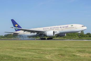 HZ-AKU - Saudi Arabian Airlines Boeing 777-200ER