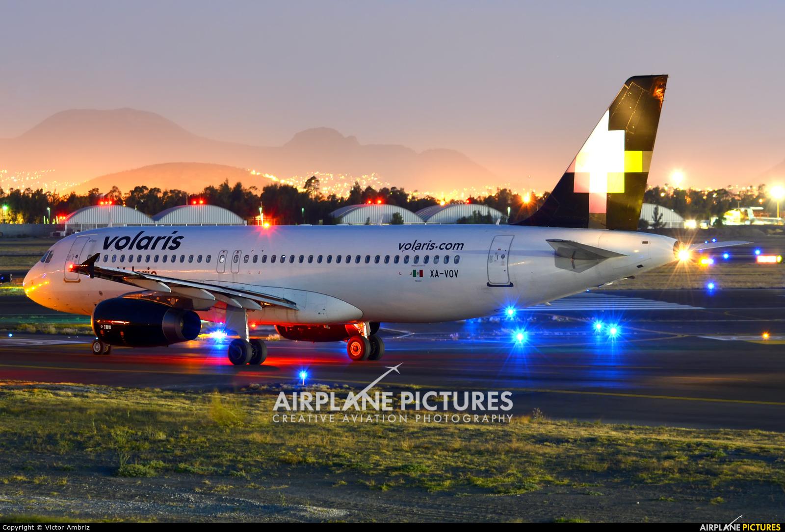 Volaris XA-VOV aircraft at Mexico City - Licenciado Benito Juarez Intl