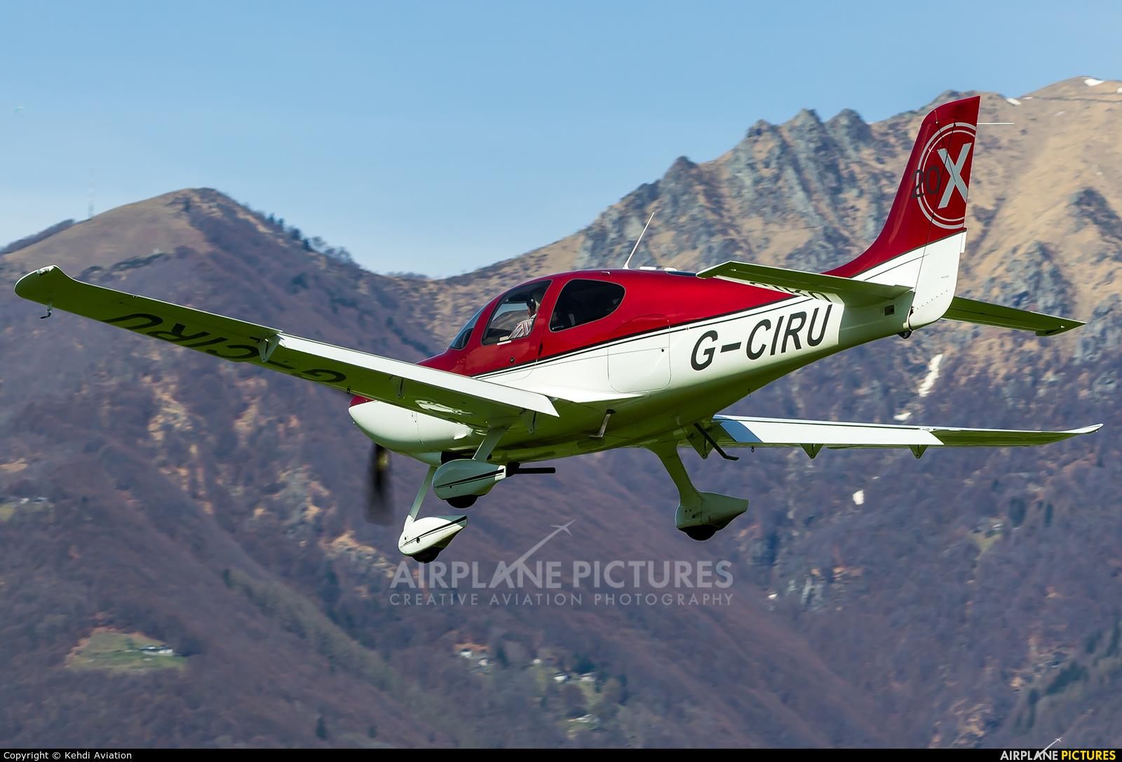 Private G-CIRU aircraft at Locarno