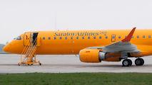 VQ-BRY - Saratov Airlines Embraer ERJ-195 (190-200) aircraft