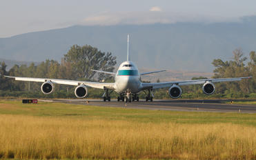B-LJF - Cathay Pacific Cargo Boeing 747-8F