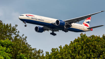 G-STBC - British Airways Boeing 777-300ER