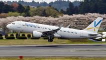 JA03VA - Vanilla Air Airbus A320 aircraft