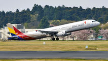 HL8278 - Asiana Airlines Airbus A321 aircraft