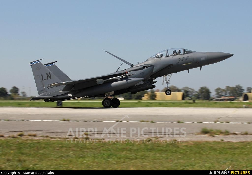 USA - Air Force 96-0202 aircraft at Andravida AB