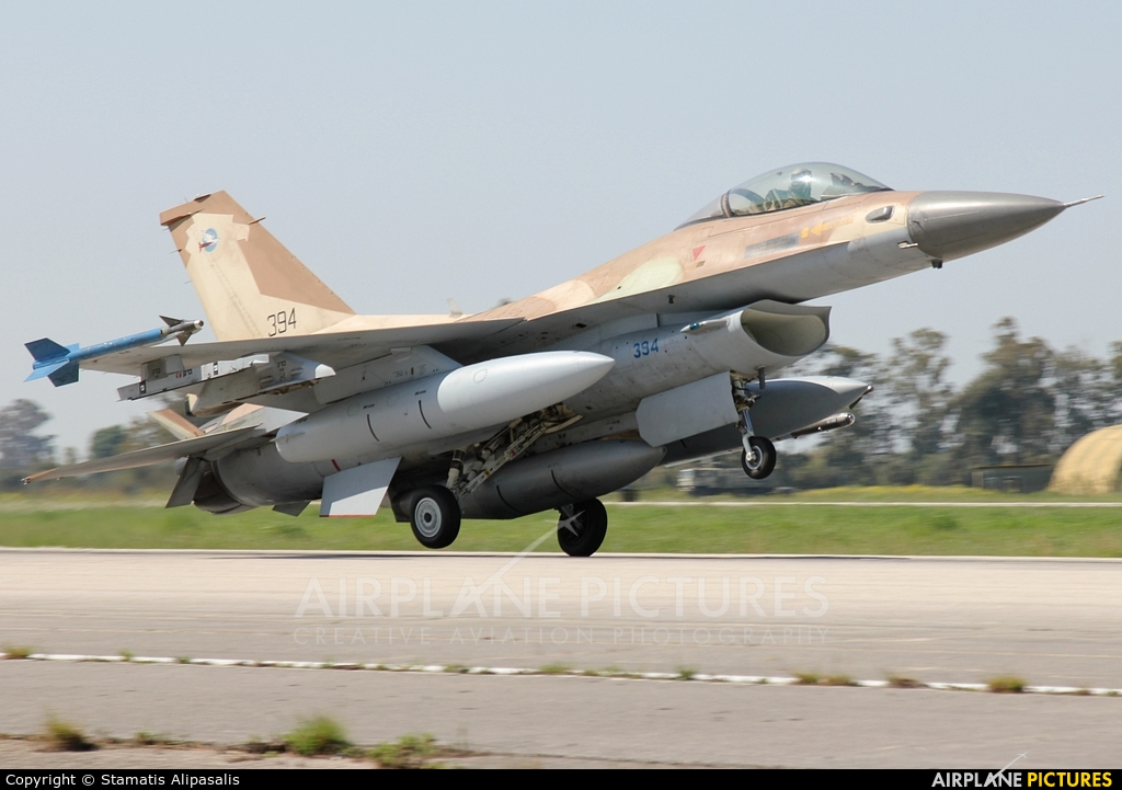 Israel - Defence Force 394 aircraft at Andravida AB