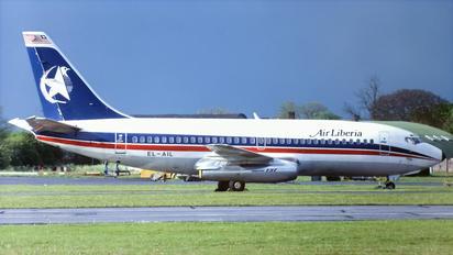 EL-AIL - Air Liberia Boeing 737-200