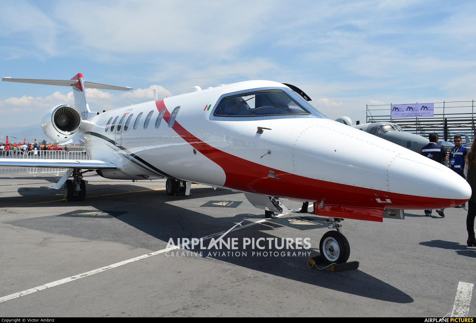 Aerolineas Ejecutivas XA-MBO aircraft at Toluca Intl