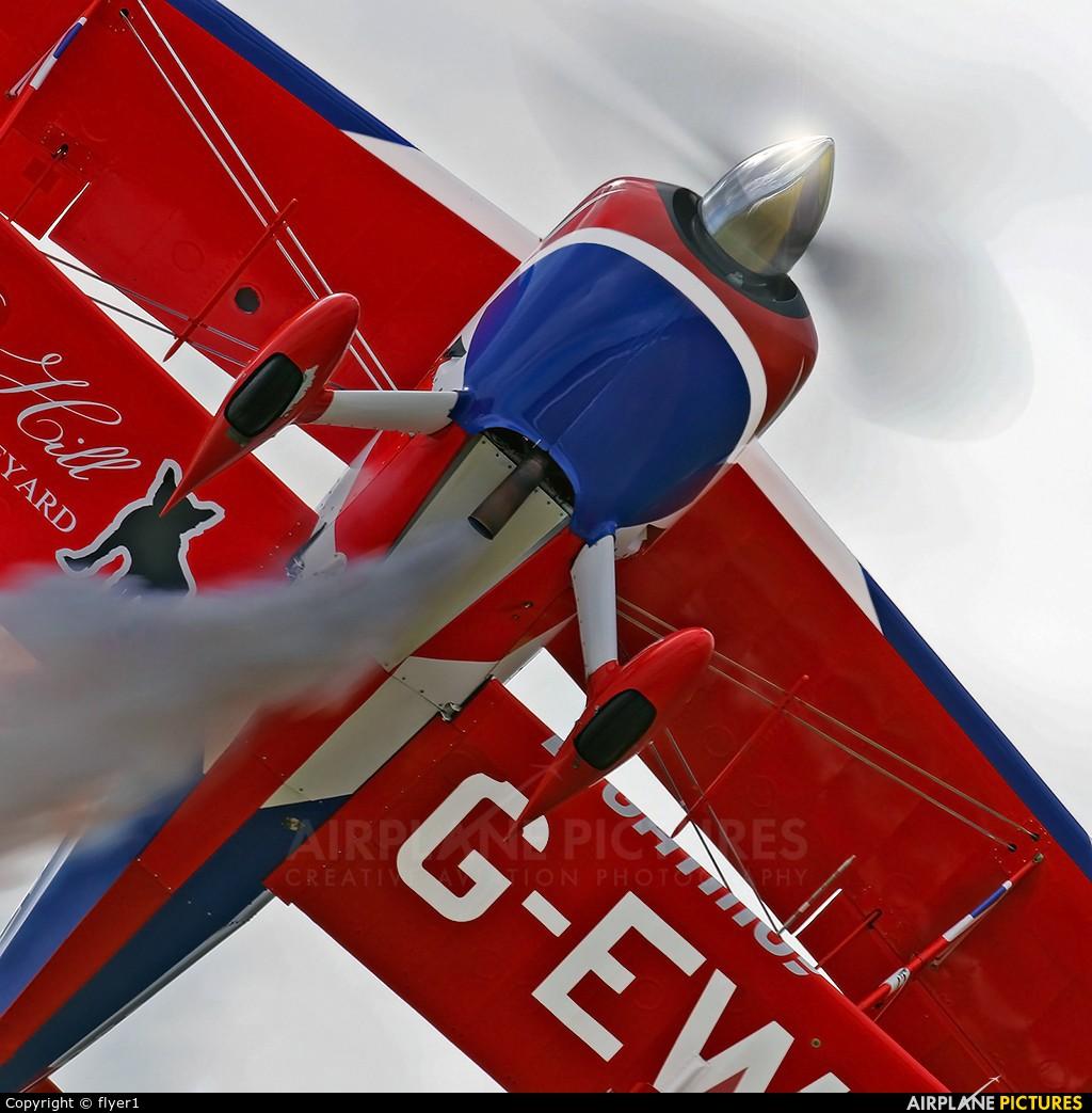 Rich Goodwin Airshows G-EWIZ aircraft at Yeovilton