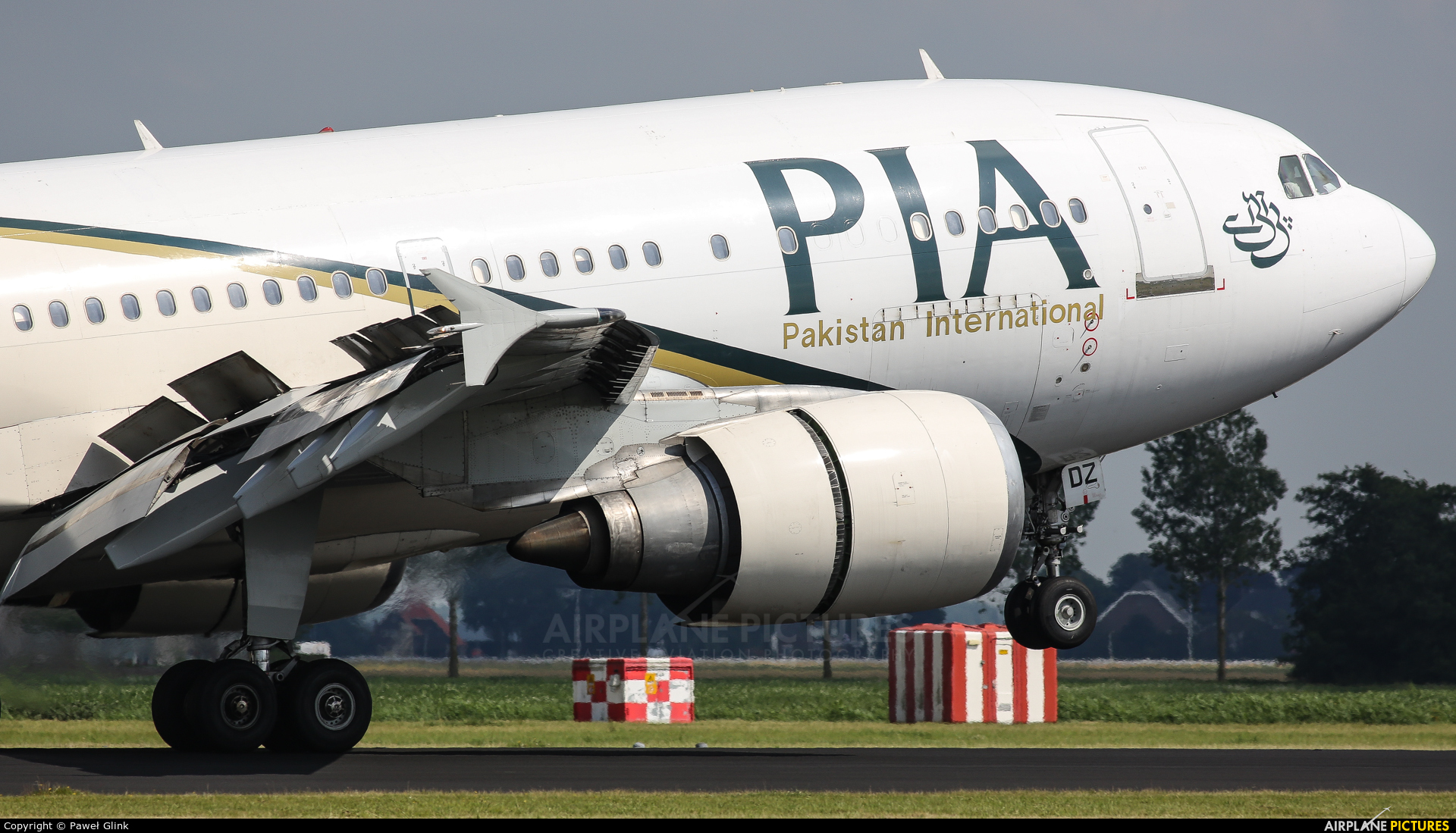 PIA - Pakistan International Airlines AP-BDZ aircraft at Amsterdam - Schiphol