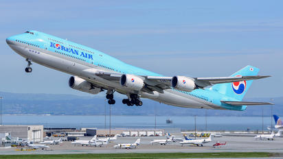 HL7631 - Korean Air Boeing 747-8