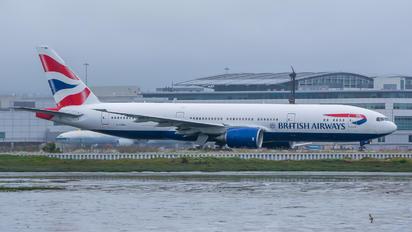 G-YMMJ - British Airways Boeing 777-200
