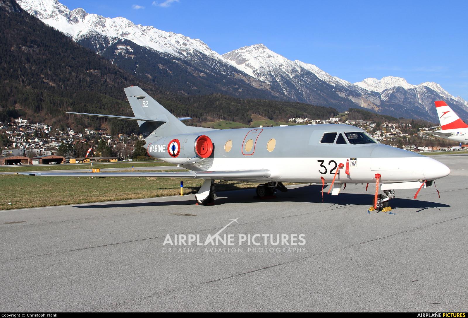 France - Navy 32 aircraft at Innsbruck