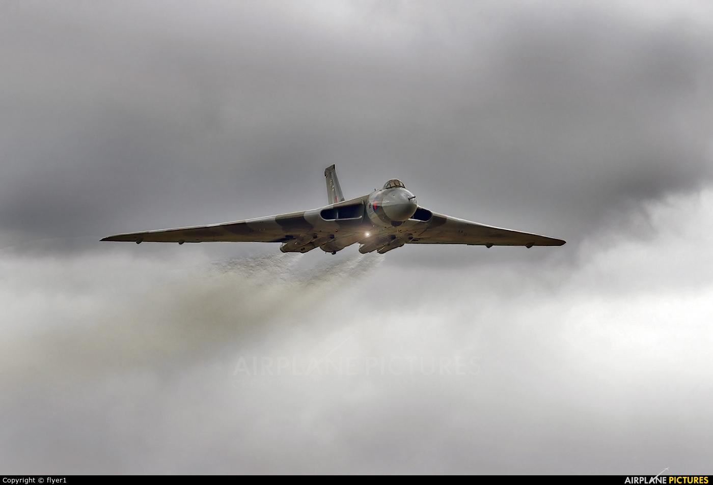 Vulcan to the Sky Trust G-VLCN aircraft at Yeovilton