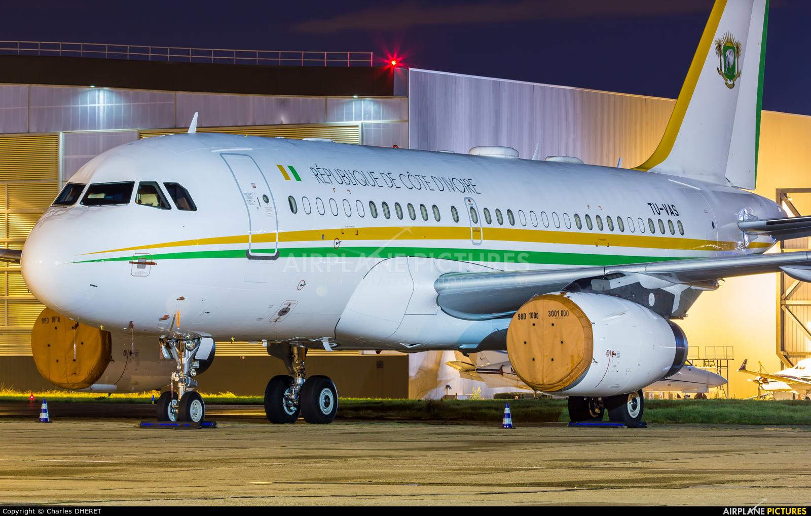 Ivory Coast - Government TU-VAS aircraft at Paris - Le Bourget