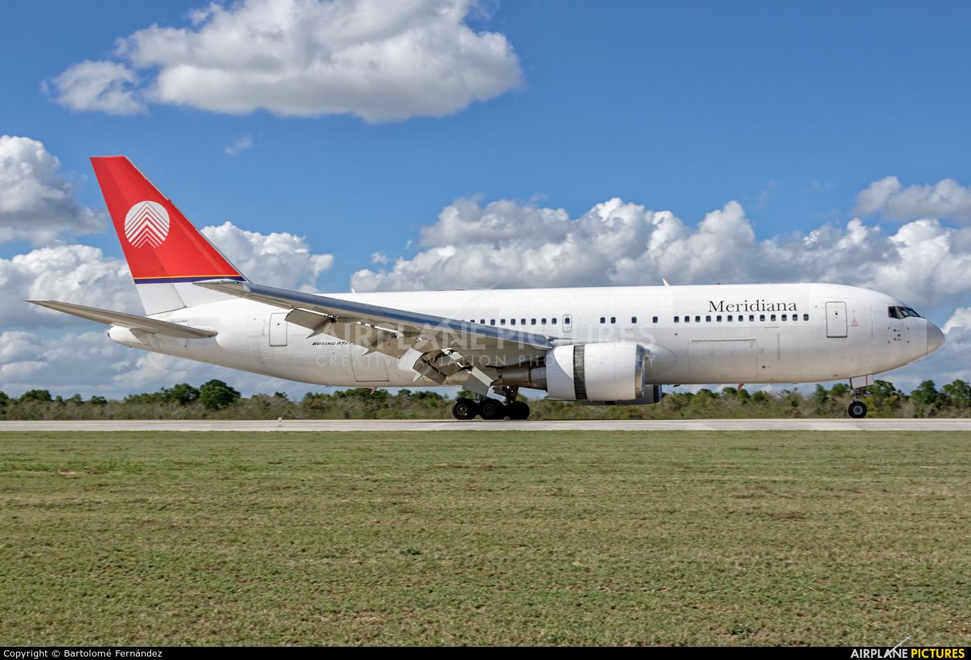Meridiana I-AIGH aircraft at La Romana Intl