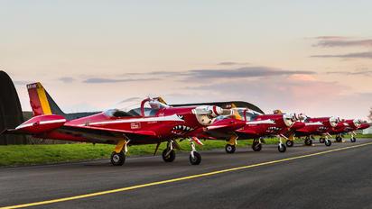 "ST15 - Belgium - Air Force ""Les Diables Rouges"" SIAI-Marchetti SF-260"