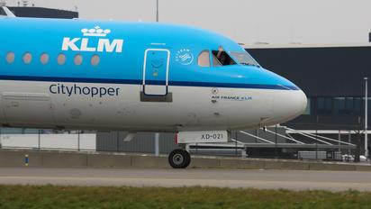 PH-WXD - KLM Cityhopper Fokker 70