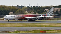 A6-EHJ - Etihad Airways Airbus A340-600 aircraft
