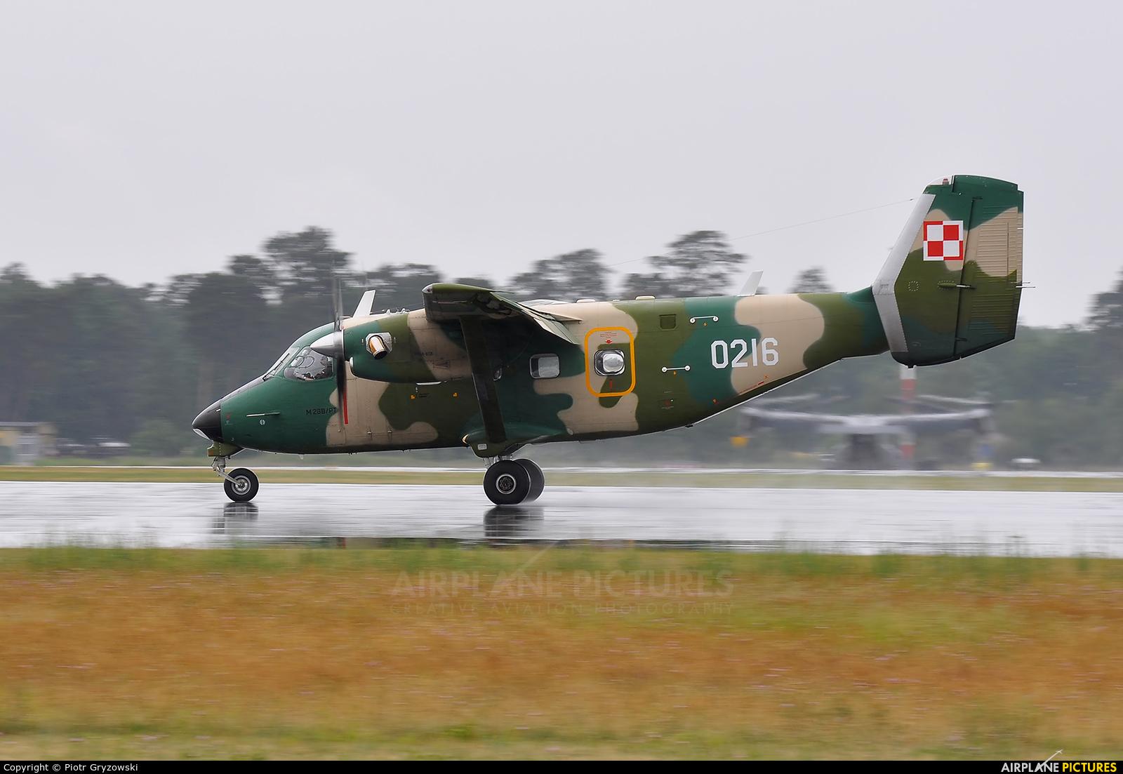 Poland - Air Force 0216 aircraft at Powidz