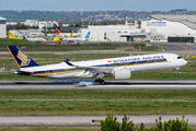 F-WZFY - Singapore Airlines Airbus A350-900 aircraft