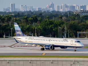 N296JB - JetBlue Airways Embraer ERJ-190 (190-100)