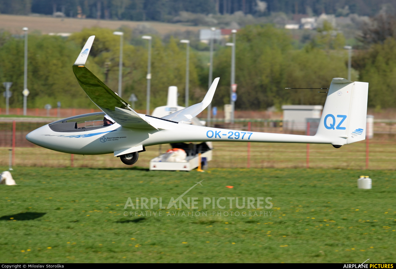 Private OK-2977 aircraft at Prievidza