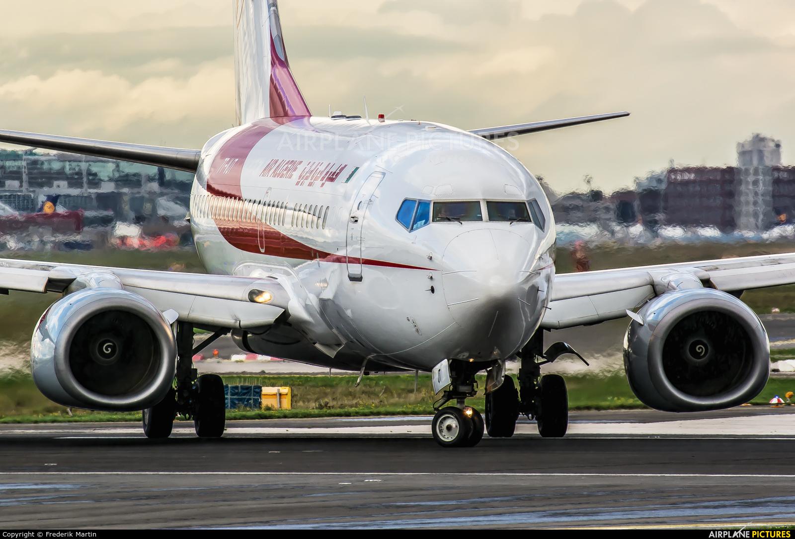Air Algerie 7T-VJT aircraft at Frankfurt
