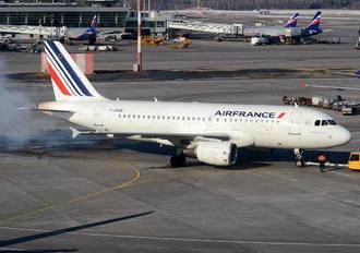 F-GRHB - Air France Airbus A319