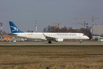 4O-AOB - Montenegro Airlines Embraer ERJ-190 (190-100)