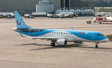 OO-JEB - Jetairfly (TUI Airlines Belgium) Embraer ERJ-190 (190-100)