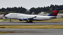 N667US - Delta Air Lines Boeing 747-400 aircraft