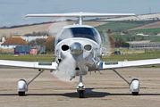 G-CDSF - Private Diamond DA 40 Diamond Star aircraft