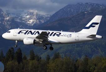 OH-LVB - Finnair Airbus A319