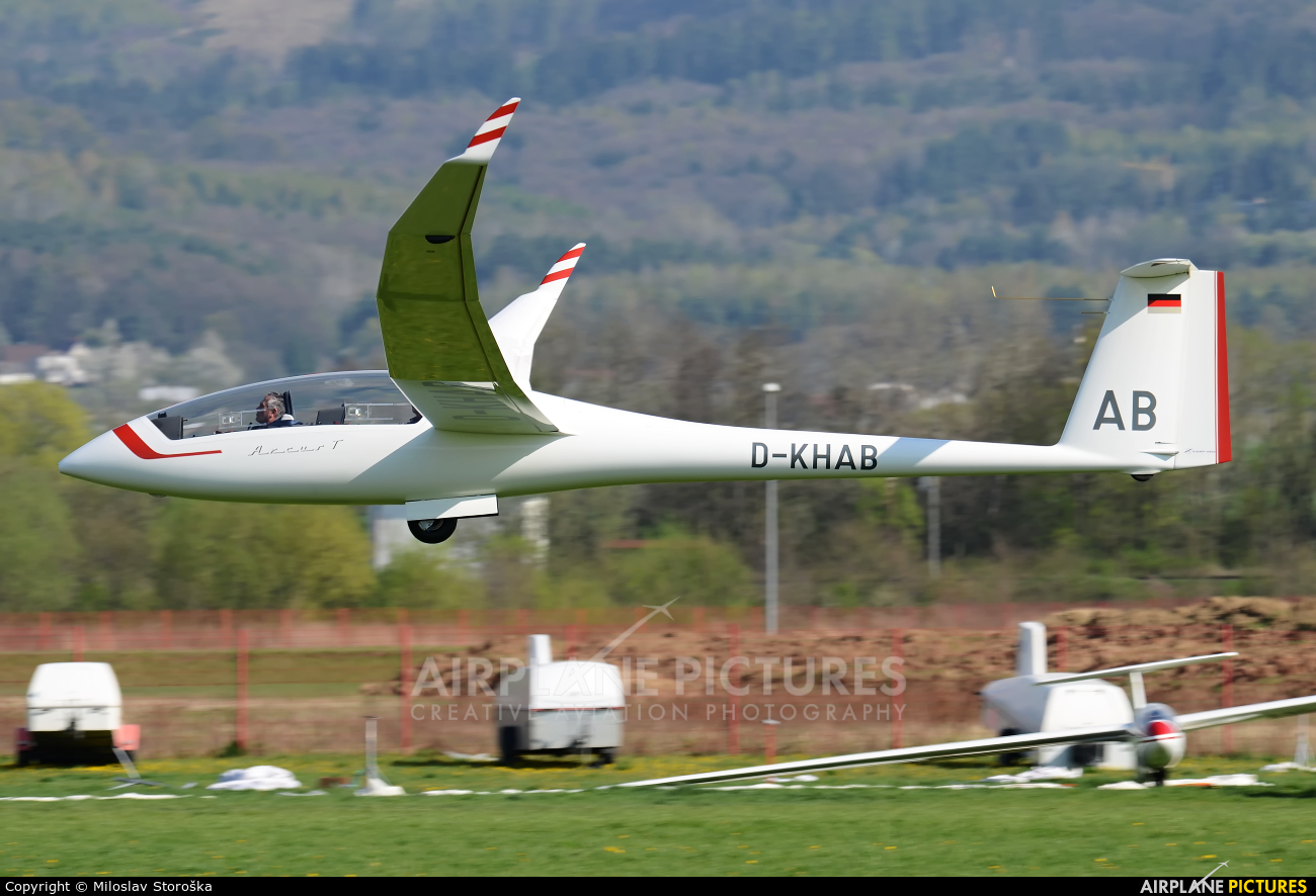 Private D-KHAB aircraft at Prievidza