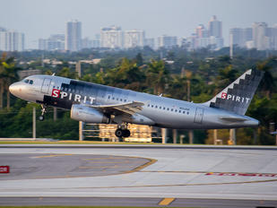 N514NK - Spirit Airlines Airbus A319