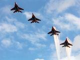 "- - Russia - Air Force ""Strizhi"" Mikoyan-Gurevich MiG-29 aircraft"