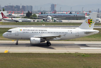 6V-ONE - Senegal - Government Airbus A319 CJ