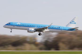 PH-EXA - KLM Cityhopper Embraer ERJ-190 (190-100)