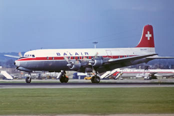 HB-IBS - Balair Douglas DC-6B