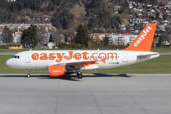 G-EZDH - easyJet Airbus A319