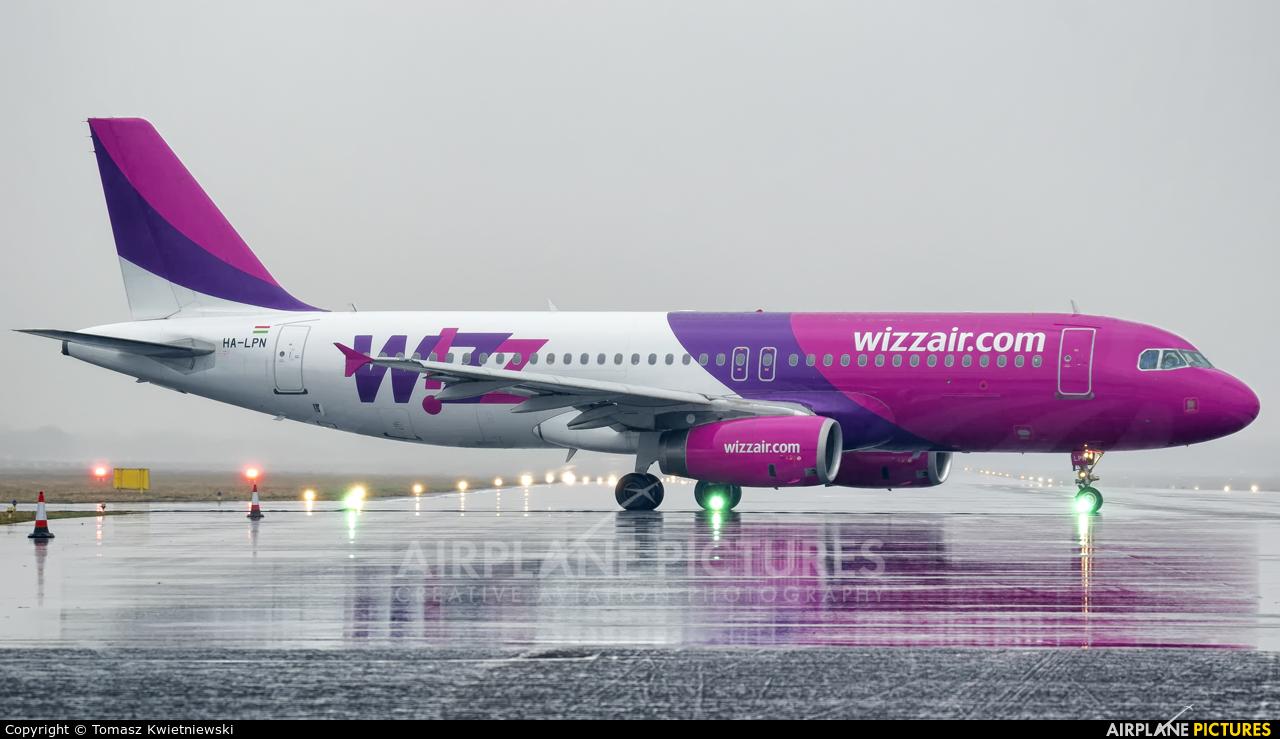 Wizz Air HA-LPN aircraft at Wrocław - Copernicus