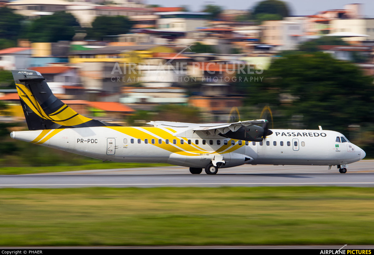 Passaredo Linhas Aéreas PR-PDC aircraft at Belo Horizonte / Pampulha – Carlos Drummond de Andrade