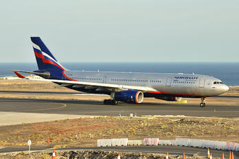 VQ-BBG - Aeroflot Airbus A330-200