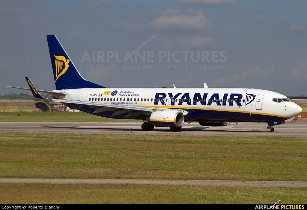 Ryanair EI-DLI aircraft at Verona - Villafranca