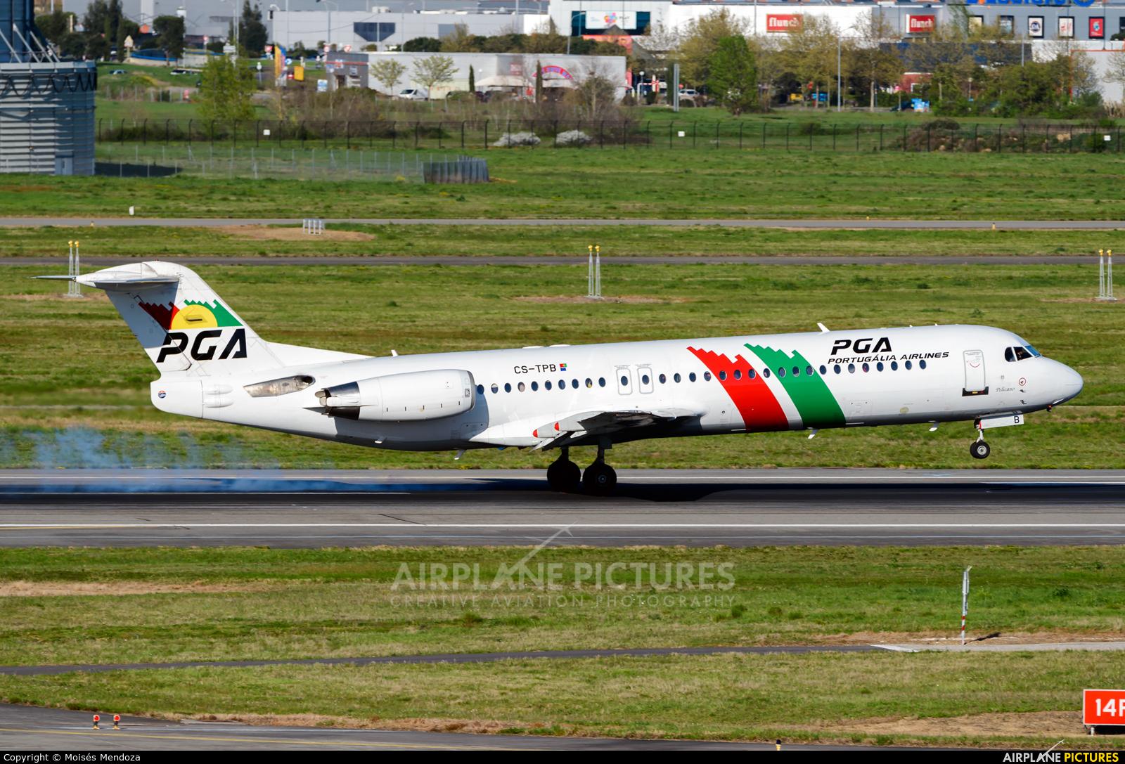 PGA Portugalia CS-TPB aircraft at Toulouse - Blagnac