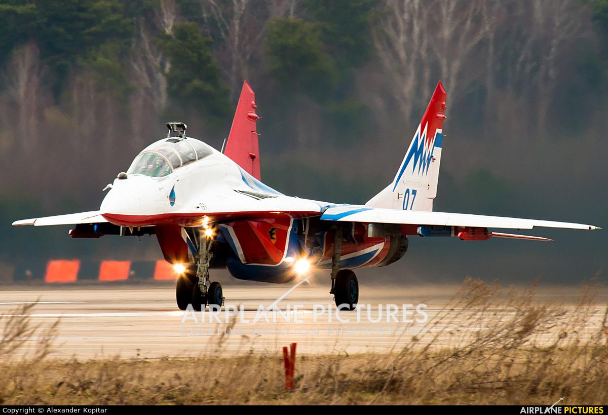 """Russia - Air Force """"Strizhi"""" 07 aircraft at Kubinka"""